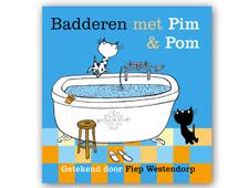 Knuffelen en badderen met Pim & Pom