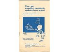 Voor het wekelijks kwartiertje verkeersles op school (1956)