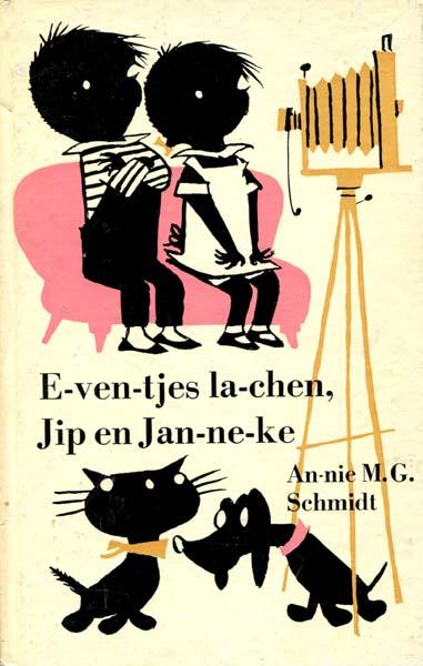 1960-Jip en Janneke Eventjes lachen