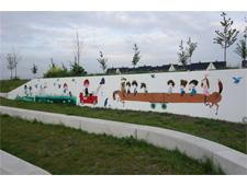 Muurschildering in Lansingerland