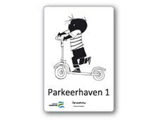 Fiep-parkeerborden in Zaltbommel