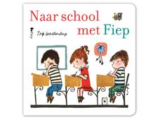 Nieuw! Kartonboekje Naar school met Fiep