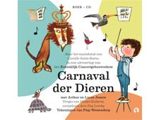 Nieuw! Boek + CD Carnaval der Dieren